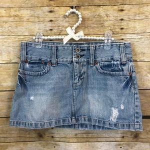 American Eagle Jean Mini Skirt Size 4
